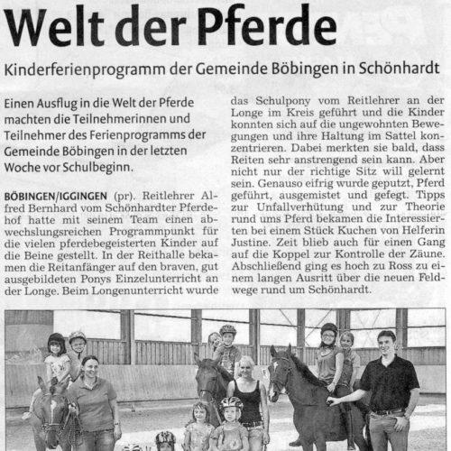 Rems-Zeitung vom 17.09.2009