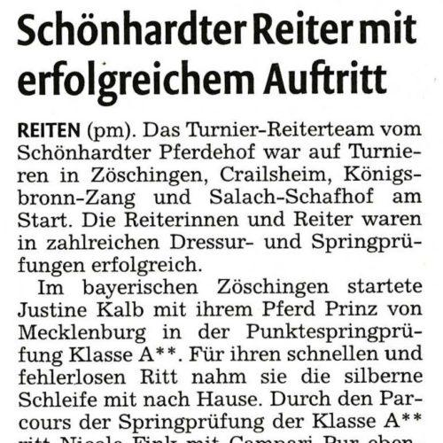 Rems-Zeitung vom 19. Mai 2011