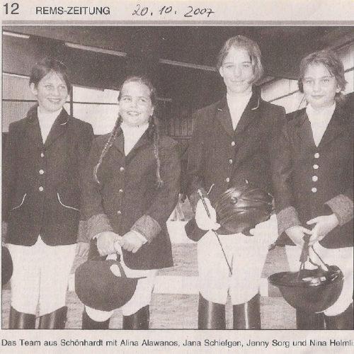 Rems-Zeitung vom 20.10.2007