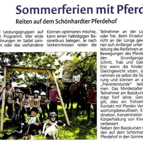 Rems-Zeitung vom 23.07.2011