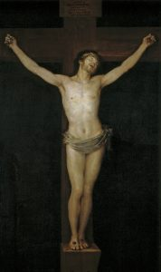 Christ Crucified by Goya