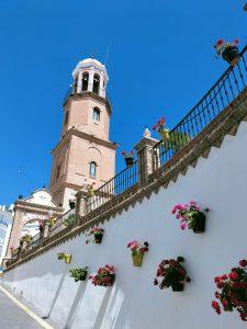 Nuestra Señora de la Asunción church, Cómpeta. Copyright Deborah Cater