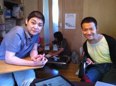 画像:c-flower佐藤さんと柴田さん