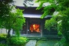 画像:坐禅に行ったお寺