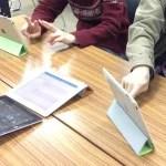 聴覚障害者向けiPad講習会の様子