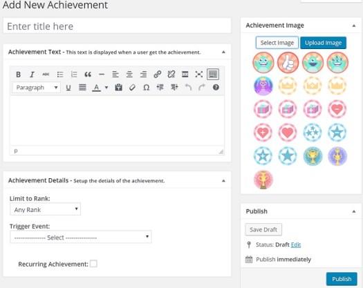 Create Achievement