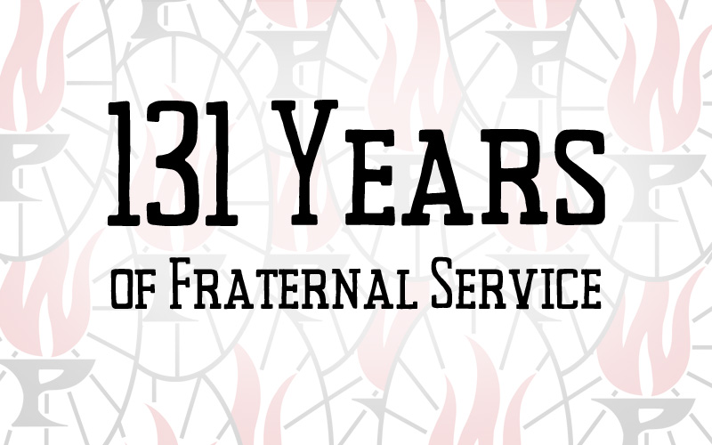 131 Years of Fraternal Service