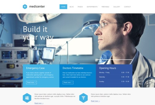 MediCenter - Responsive Medical WP Theme