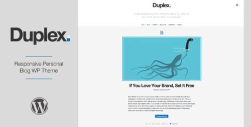 Duplex - Responsive Personal Blog WP Theme
