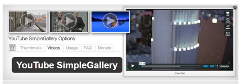 YouTube SimpleGallery
