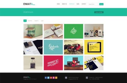 Enkata - Responsive WordPress CMS Theme