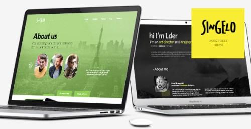Singelo - One Page WordPress Theme