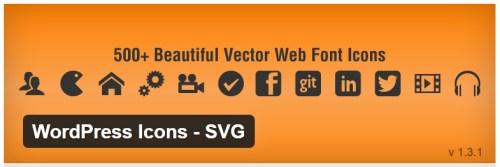 WordPress Icons - SVG
