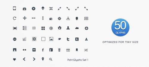 50 PatriGlyphs Set