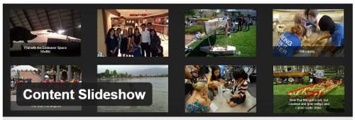 Content Slideshow
