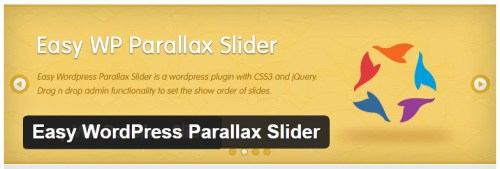 Easy WordPress Parallax Slider