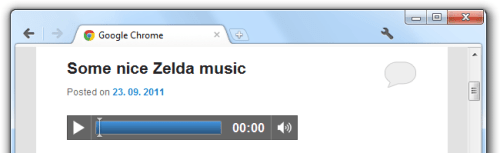 PB oEmbed HTML5 Audio