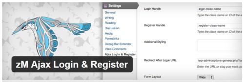 zM Ajax Login & Register