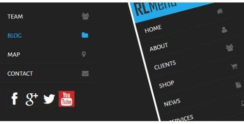 RLMenu - CSS Vertical Menu