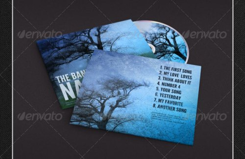 Album Cover - CD Folder Mockups