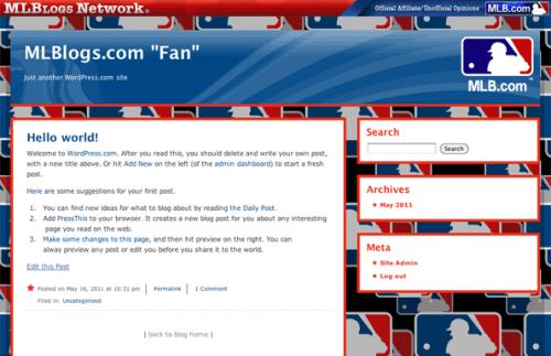 """MLB """"Fan"""""""