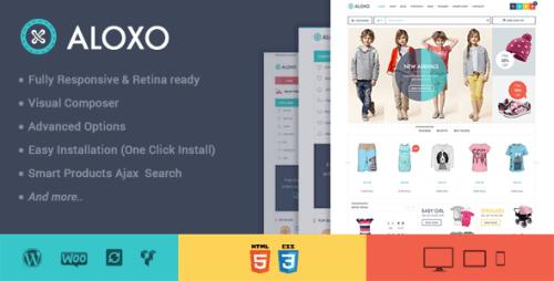Aloxo - Responsive WooCommerce Theme