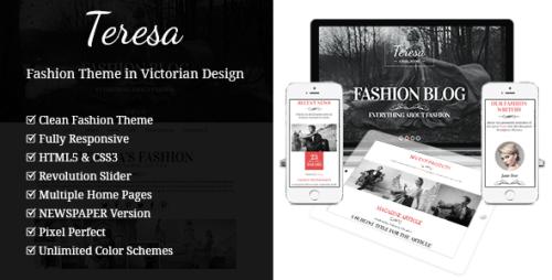 Teresa - A One And Multi Page Fashion Theme