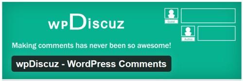 wpDiscuz - WordPress Comments