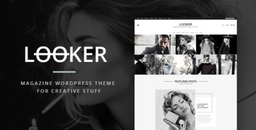 Looker - Magazine WordPress Theme For Creative Stuff