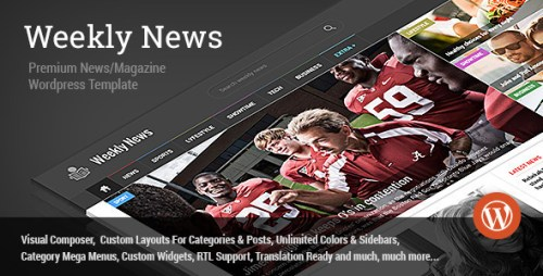 Weekly News - WordPress News, Magazine Theme