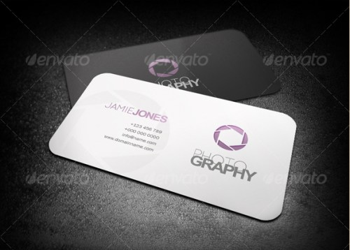 20 creative photography business card templates wpalkane simple photography business card template reheart Gallery