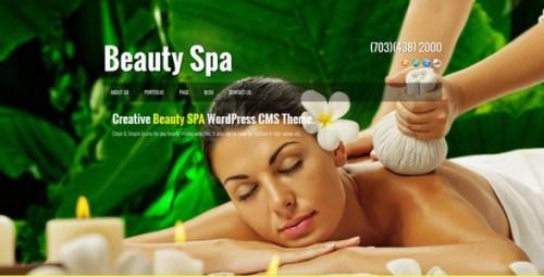 Beauty SPA - Creative WordPress CMS Theme