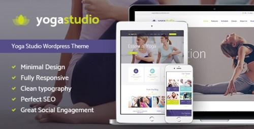 Yogastudio - Yoga, Gym WordPress Theme