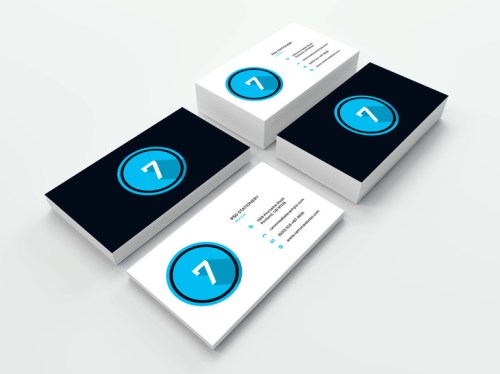 Amazing Business Card Mockup