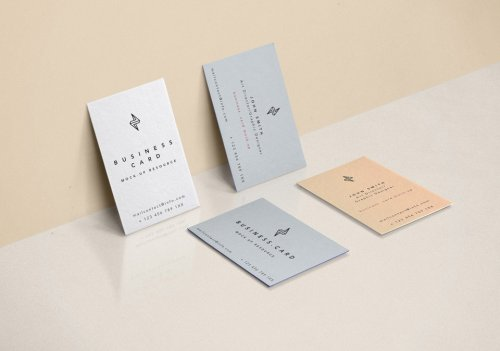 Fantastic Free Business Card Mockup PSD