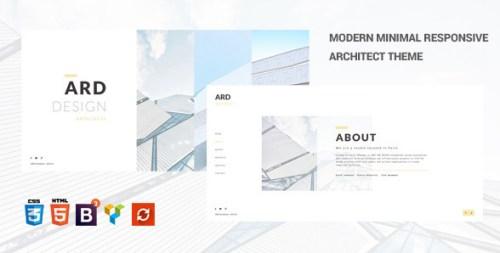ARD - Architect Minimal WordPress Theme