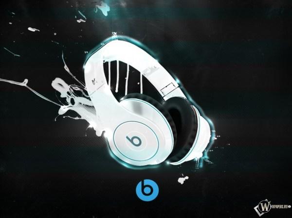 Скачать обои Beats by Dr Dre (Музыка, Наушники, Краски ...
