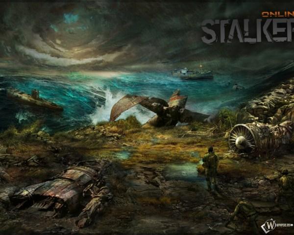 Скачать обои Сталкер онлайн (Сталкер, Stalker, Online) для ...