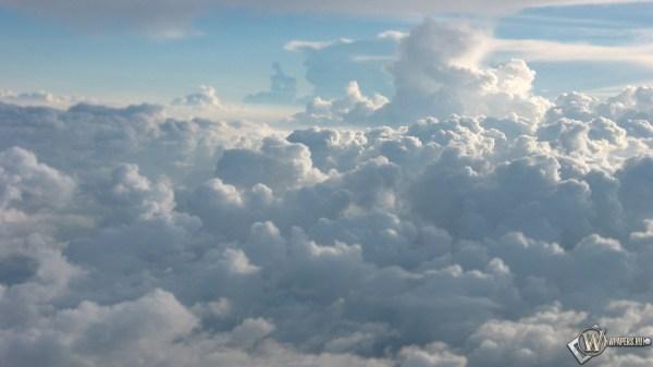 Скачать обои Кучевые облака (Облака, Небо, Голубой) для ...