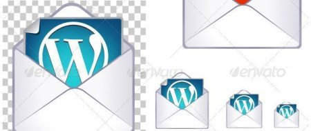 WordPress message