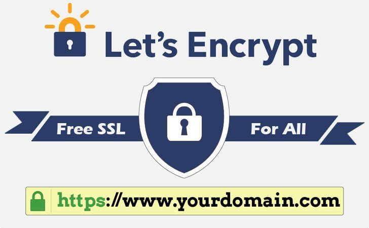 Install SSL certificate freely using Let's Encrypt