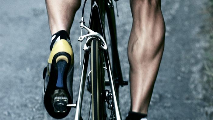Image result for triathlete calves bike