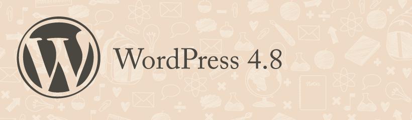 Šta nam donosi WordPress 4.8?