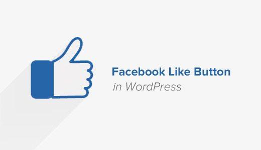Facebook Like Button cho WordPress