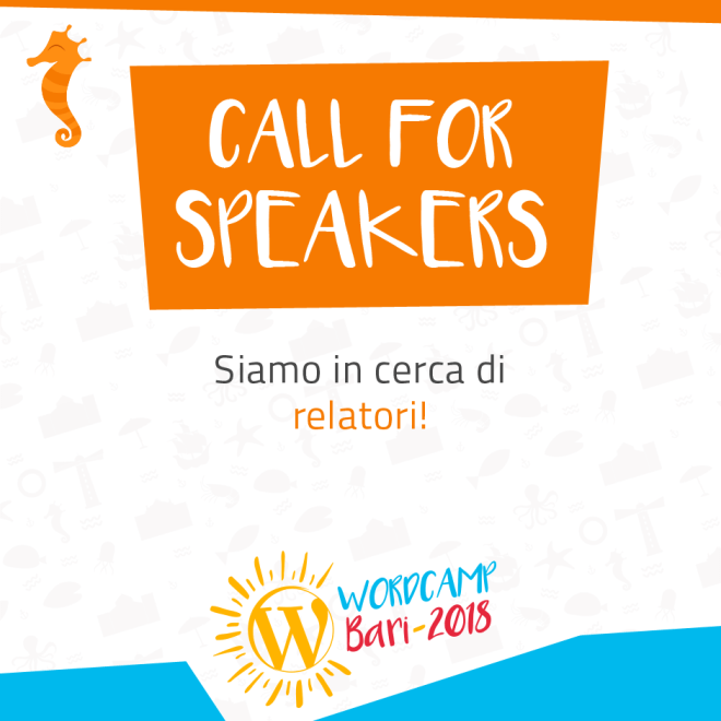 WordCamp-Bari-2018__Call-4-Speakers