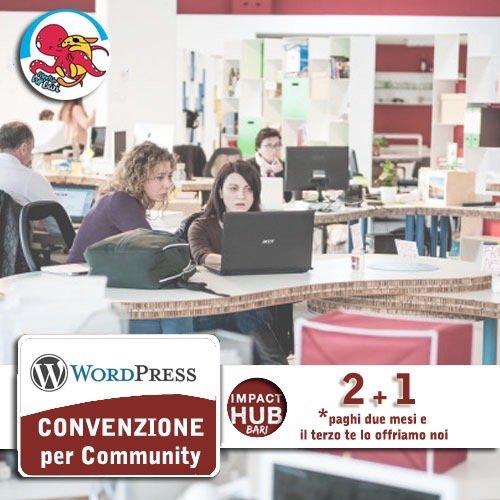 convenzione WPbari e Impact Hub