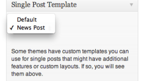 Find Which Template Wordpress Is Using On A Post Or Page
