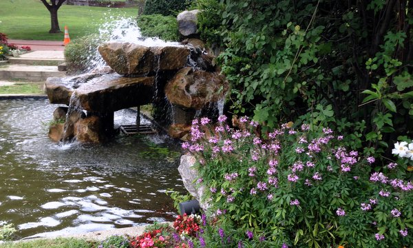 Hawks Water Cascade Garden