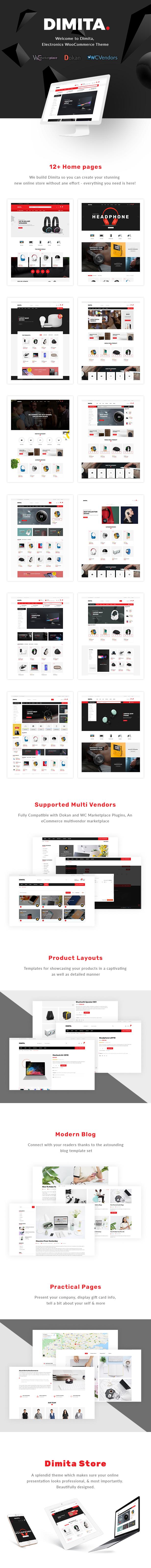 Dimita – Electronics WordPress Theme for WooCommerce - 1