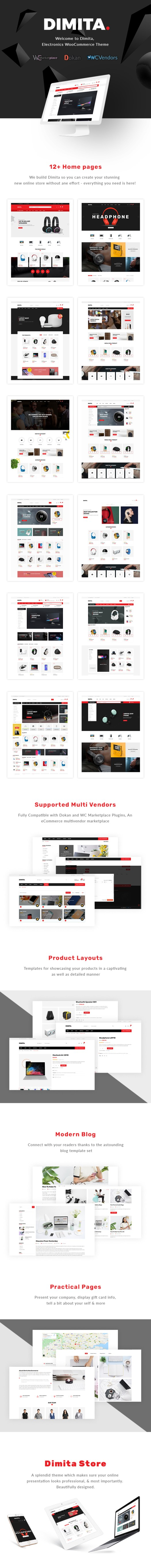 Dimita – Electronics WordPress Theme for WooCommerce - 1